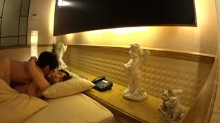 「バレたらやばいよぉ」終電を逃した若妻とホテルで生々しいハメ撮り流出